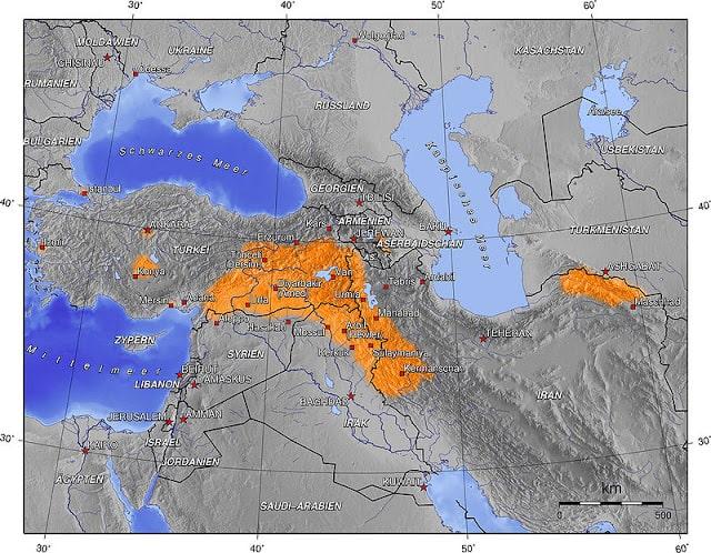 Türkiye'deki Kürt Aşiretleri 1