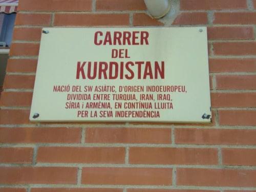 Katalonya'da Kürdistan Sokağı 3