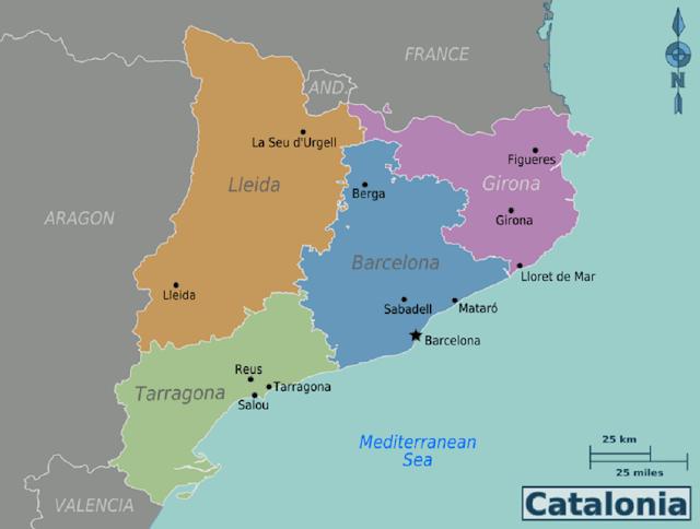 Katalonya'da Kürdistan Sokağı 1