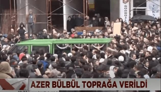 azer bülbül cenazesi