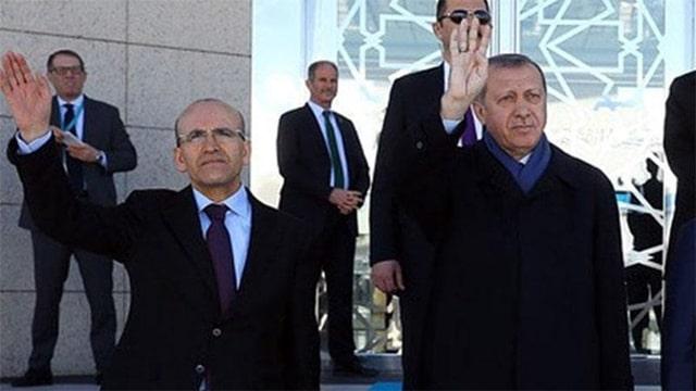 mehmet şimşek and recep tayyip erdoğan